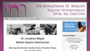 Texas Equine Vet Dr Jonathan Magid